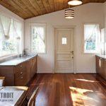 Шторы для маленьких кухонь на фото