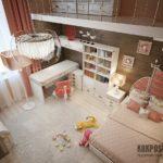 Оригинальный интерьеры детских комнат