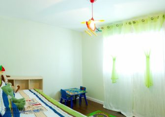 Шторы в детскую комнату: фото необычных решений