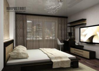 Ремонт квартир и фото спальни