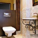 Как осуществить классический дизайн в маленькой ванной