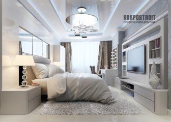 Примеры использования натяжных потолков на фото для спальни