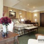 Спальня в классическом стиле: фото интерьерных решений