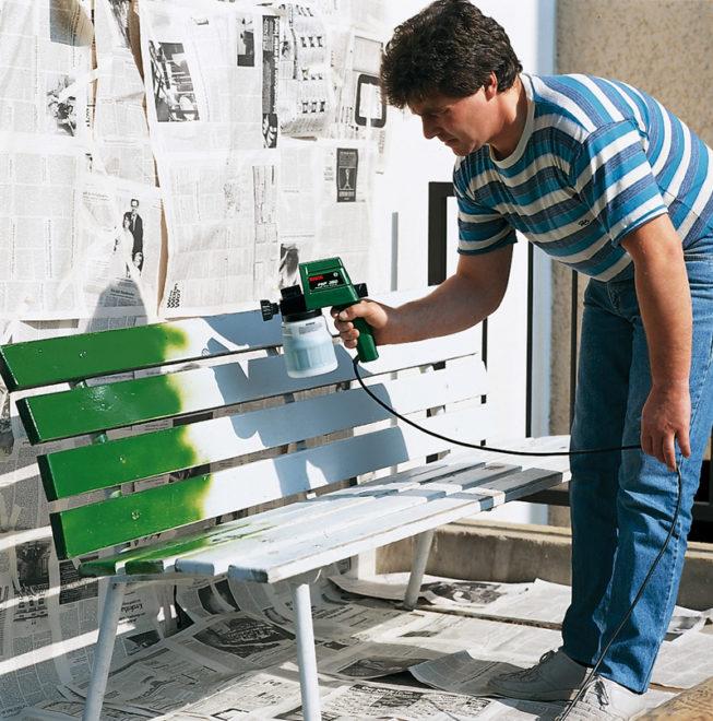 Краскопульт для строительных и бытовых работ