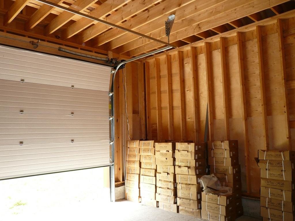 Ворота в каркасный гараж где купить гараж в иваново