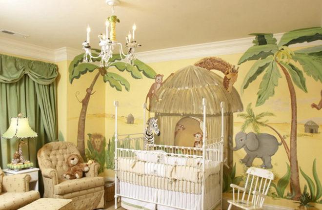 Детская комната в африканском стиле