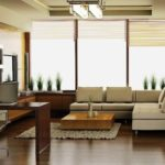 Строгая гостиная в стиле модерн