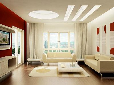 Особенности освещения гостиной в стиле модерн
