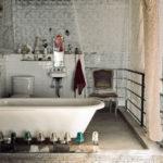 Ванная в стиле гранж