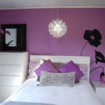 Спальня фиолетовый цвет