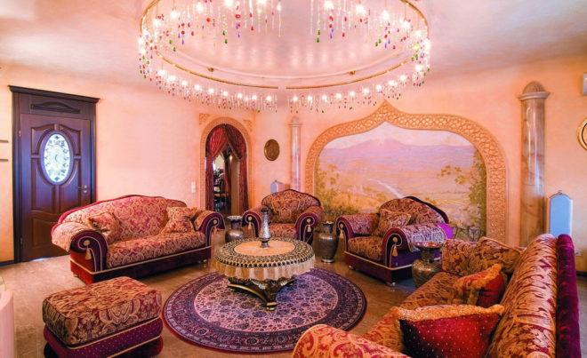 Спальня восточный стиль