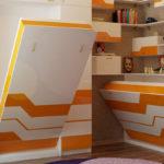 Комната с кроватями-трансформерами