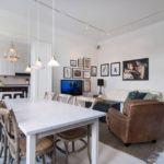 Морской стиль в интерьере квартиры-студии