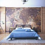 Интерьер морской спальни