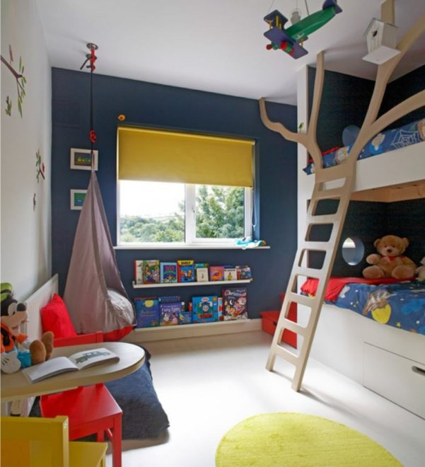 Комната для двух мальчиков в морском стиле