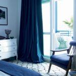 Контрастная спальня в морском стиле