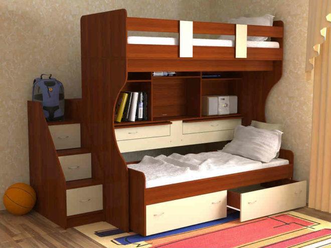 Маленькая комната для двух мальчиков
