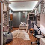 Детская комната в стиле лофт для подростка