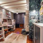Узкая комната для детей в стиле лофт