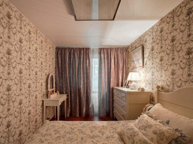 Небольшая спальня в провансе