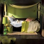 Ориентальная спальня