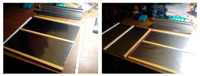 Подготовка металлической пластины