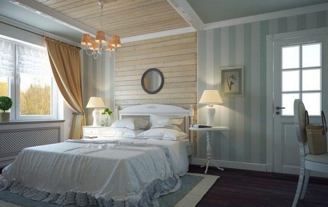 Спальня, совмещённая с кабинетом