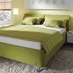 Спальня в цвете аспарагус