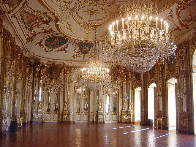 Стиль ампир в интерьере дворцов