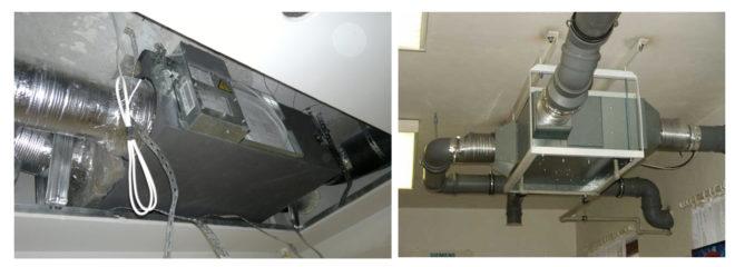 Установка рекуператора в систему вентиляции