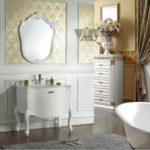 Классическая ванна в современном стиле