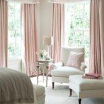 Современный классический интерьер женской спальни