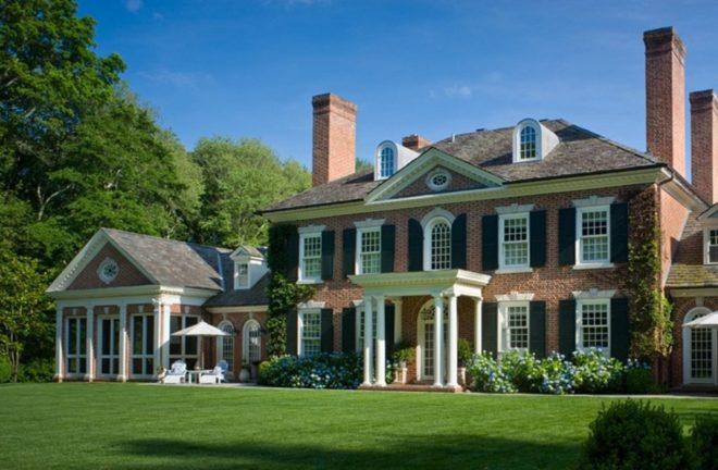 Современная классическая архитектура XlX века: колониальный стиль