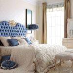 Спальня в стиле современной классики с элементами барокко