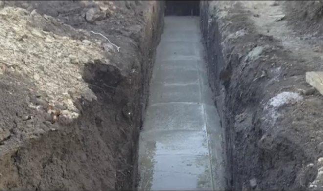 Подушка под фундамент