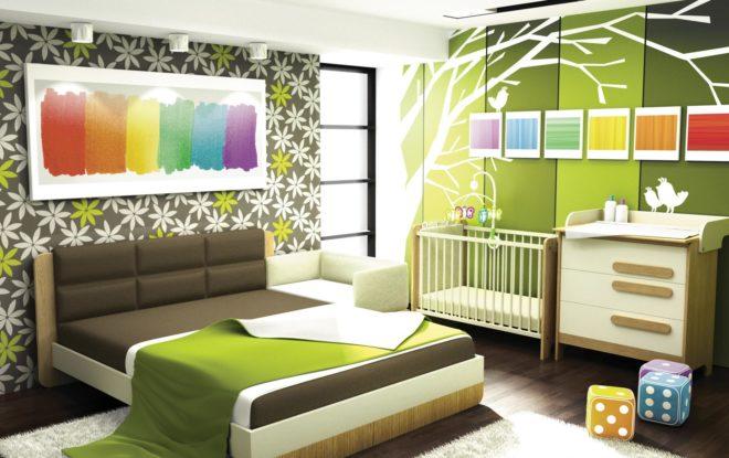 Поп-арт в общей спальне