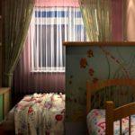 Общая спальня со шкафчиком
