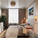 Современная общая спальня