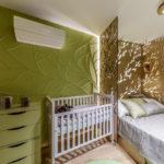 Общая спальня в стиле эко