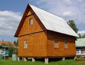 Каркасно-щитовой дом 5х6 метров