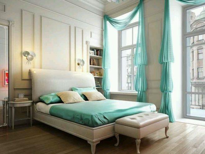 Спальня в стиле «классицизм»