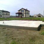 Дома на плитных фундаментах