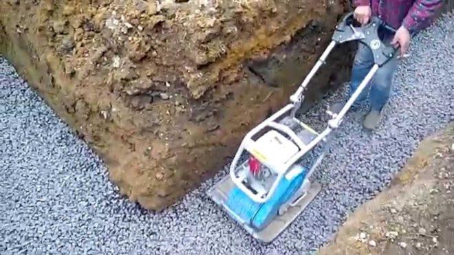 Подсыпка под фундамент