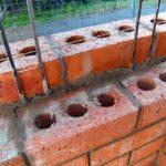 Фундамент из кирпича для тёплого дома