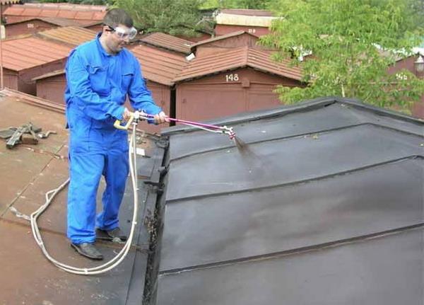 Гидроизоляция железной крыши