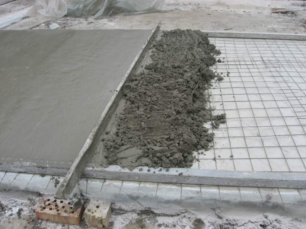 Цементный раствор в дождь расценка устройства керамзитобетона
