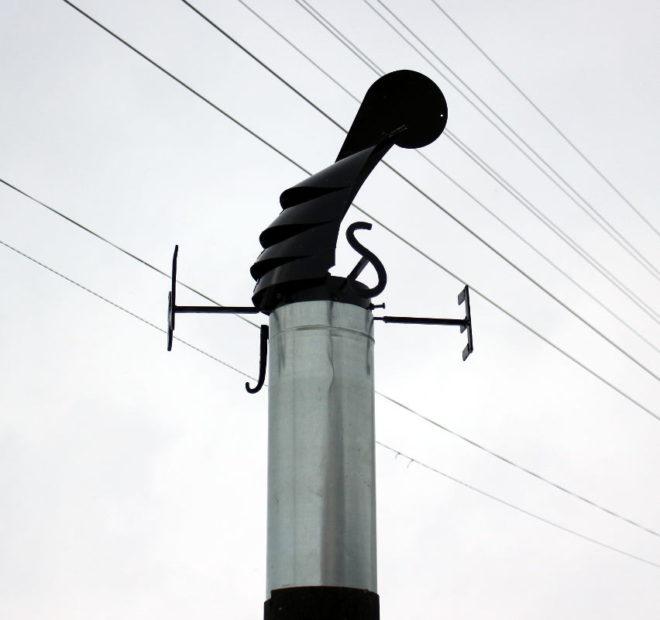 Дефлектор-флюгер