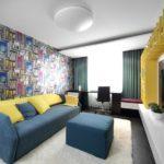 Авангард в оформлении комнаты для подростка