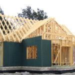 Каркасный дом на ленточном фундаменте из пеноблоков