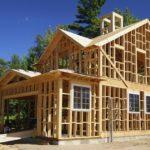 Каркасный дом на монолитном фундаменте